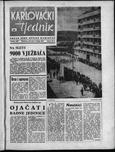 Karlovački tjednik: 1965 • 22