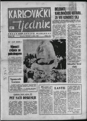 Karlovački tjednik: 1964 • 27
