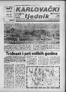 Karlovački tjednik: 1978 • 47