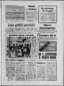 Karlovački tjednik: 1973 • 41