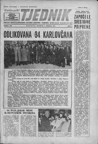 Karlovački tjednik: 1959 • 2