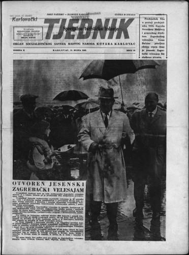 Karlovački tjednik: 1962 • 35