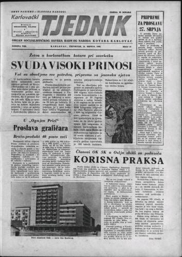Karlovački tjednik: 1960 • 27