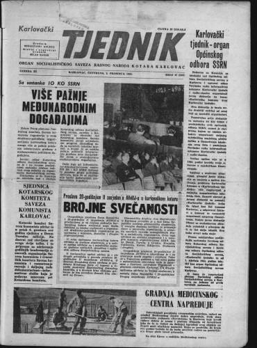 Karlovački tjednik: 1963 • 47