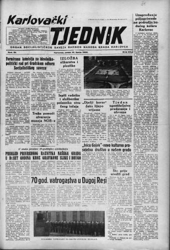 Karlovački tjednik: 1955 • 23
