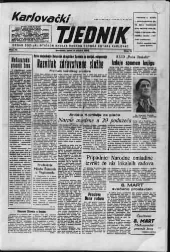 Karlovački tjednik: 1956 • 10
