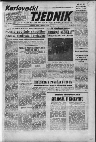 Karlovački tjednik: 1956 • 44