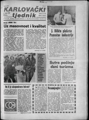 Karlovački tjednik: 1980 • 23