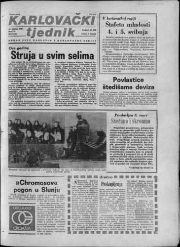 Karlovački tjednik: 1980 • 11