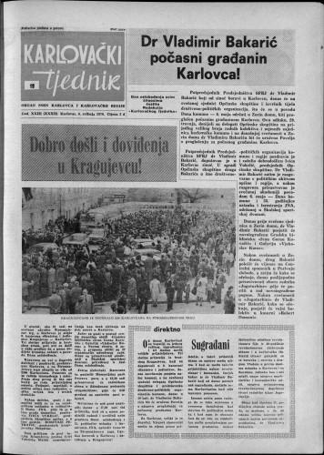 Karlovački tjednik: 1976 • 19
