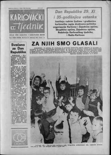 Karlovački tjednik: 1976 • 48