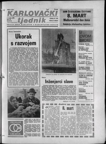 Karlovački tjednik: 1980 • 10