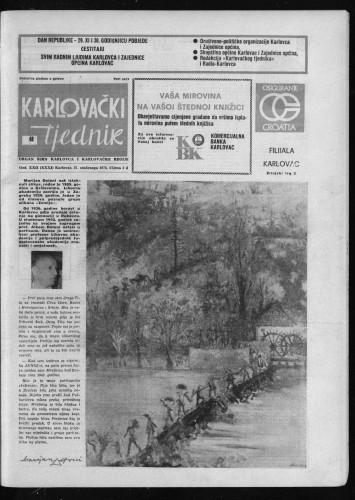 Karlovački tjednik: 1975 • 48