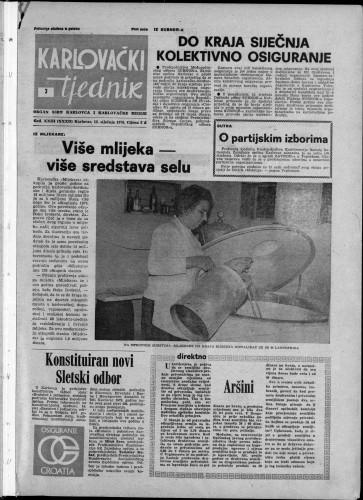 Karlovački tjednik: 1976 • 3