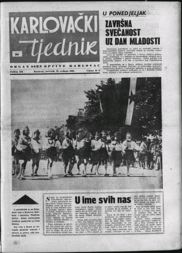 Karlovački tjednik: 1964 • 20