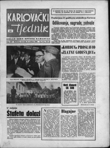 Karlovački tjednik: 1966 • 18