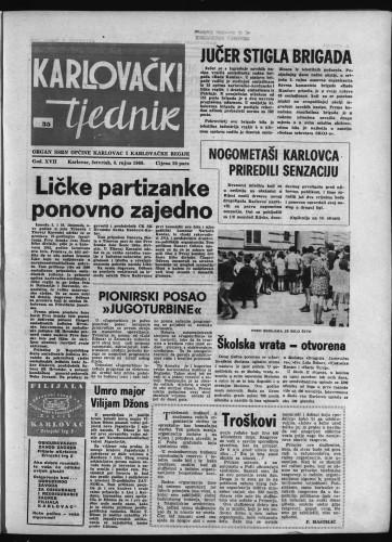 Karlovački tjednik: 1969 • 35