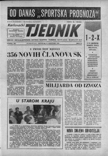 Karlovački tjednik: 1959 • 35