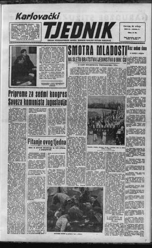 Karlovački tjednik: 1957 • 22