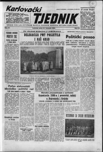Karlovački tjednik: 1956 • 43