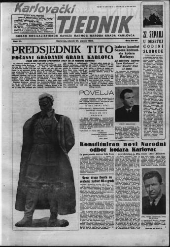 Karlovački tjednik: 1955 • 29