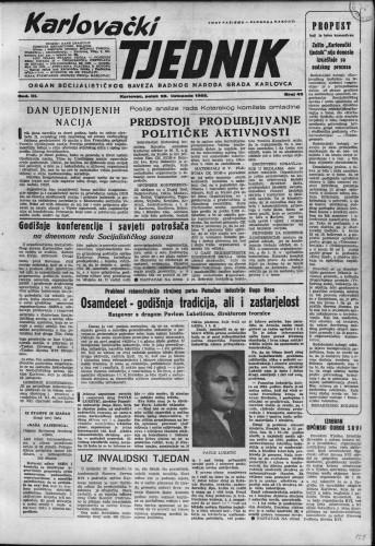 Karlovački tjednik: 1955 • 43