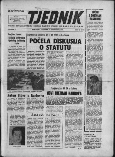 Karlovački tjednik: 1963 • 45