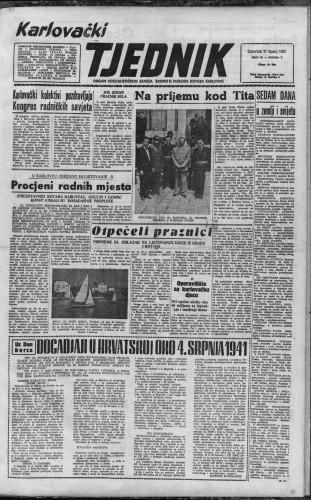 Karlovački tjednik: 1957 • 26
