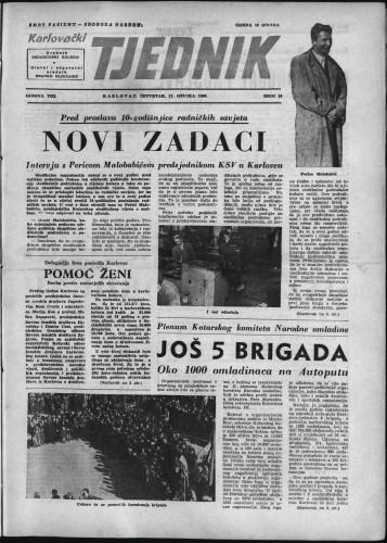 Karlovački tjednik: 1960 • 10