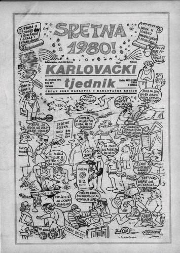 Karlovački tjednik: 1979 • 52