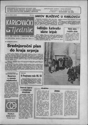 Karlovački tjednik: 1976 • 10