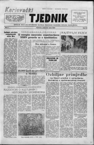 Karlovački tjednik: 1953 • 13