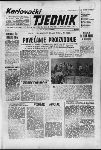 Karlovački tjednik: 1956 • 41