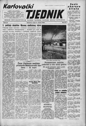 Karlovački tjednik: 1955 • 10