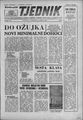Karlovački tjednik: 1959 • 5