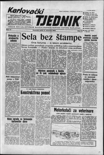 Karlovački tjednik: 1956 • 33