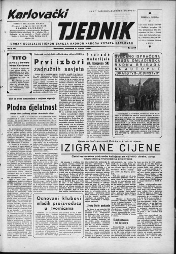 Karlovački tjednik: 1958 • 23