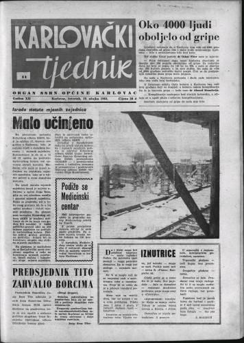 Karlovački tjednik: 1964 • 11