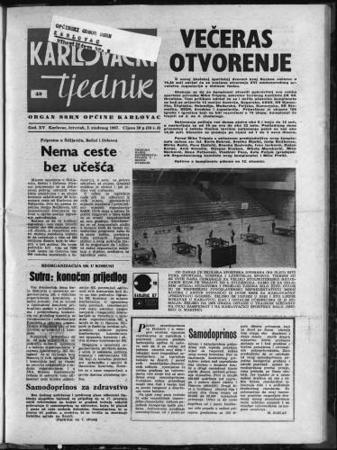 Karlovački tjednik: 1967 • 43