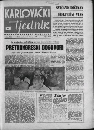 Karlovački tjednik: 1964 • 38