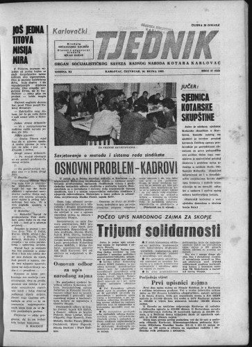 Karlovački tjednik: 1963 • 37