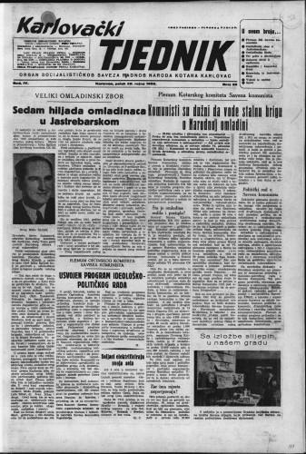 Karlovački tjednik: 1956 • 39