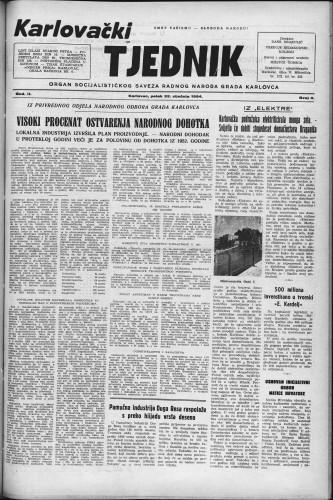 Karlovački tjednik: 1954 • 4