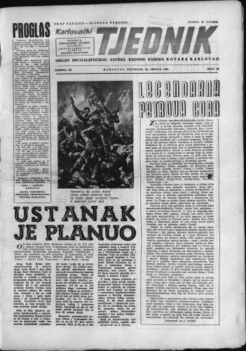 Karlovački tjednik: 1961 • 28