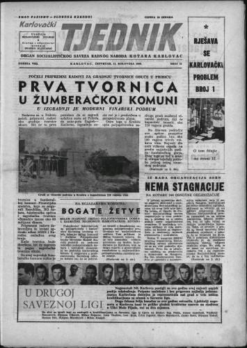 Karlovački tjednik: 1960 • 31