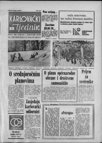 Karlovački tjednik: 1976 • 5