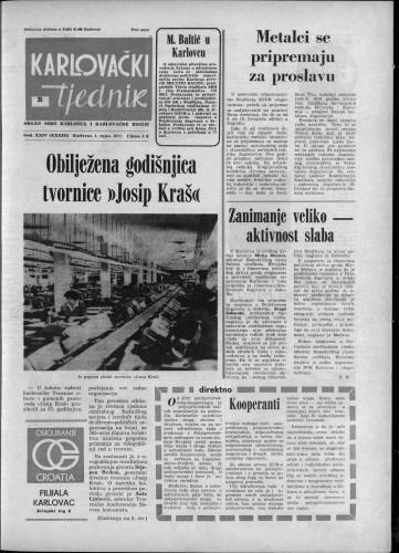 Karlovački tjednik: 1977 • 35