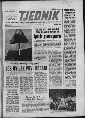 Karlovački tjednik: 1963 • 33