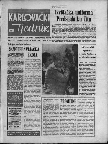 Karlovački tjednik: 1969 • 21