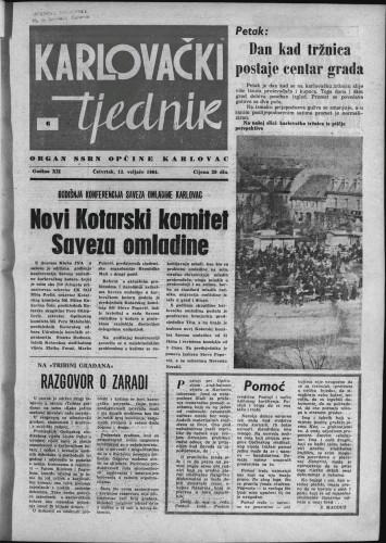 Karlovački tjednik: 1964 • 6